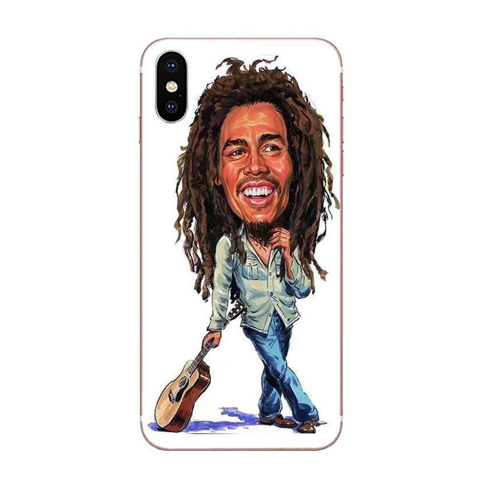 Мягкий Лидер продаж Боб Marleys раста Лев регги для Galaxy J1 J2 J3 J330 J4 J5 J6 J7 J730 J8 2015 2016 2017 2018 mini Pro