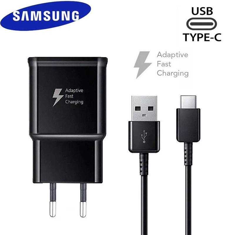 Samsung 9V1.67A 15 Вт Usb Адаптивное быстрое зарядное устройство адаптер быстрой зарядки кабель типа C для Galaxy S20 S10 S10E S9 S8 Plus Note 8 9 A50S