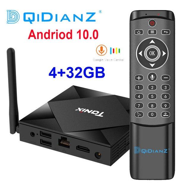 Android 10.0 Tanix TX6S Smart TV BOX 4GB pamięci RAM 32GB 64GB Allwinner H616 czterordzeniowy TVBox H.265 4K odtwarzacz multimedialny PK TX6 T95 A95X H96