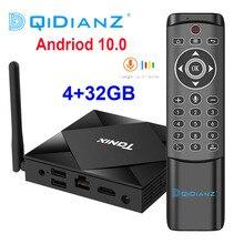 ТВ приставка Tanix TX6S на Android 10,0, 4 Гб ОЗУ 32 Гб 64 ГБ, четырехъядерный процессор Allwinner H616, ТВ приставка H.265 4K, медиаплеер PK TX6 T95 A95X H96