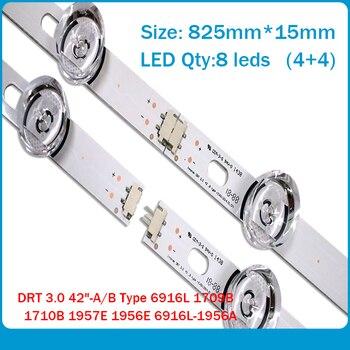 8 Pieces/lot(4*A+4*B) LED backlight bar for LG INNOTEK DRT 3.0 42_A 42_B TYPE REV01 6916L 1709B 1710B 1957E 1956E 1956A 1957A 4 pieces lot 2 a 2 b led backlight bar for lg innotek drt 3 0 42 a 42 b type rev01 6916l 1709b 1710b 1957e 1956e 1956a 1957a