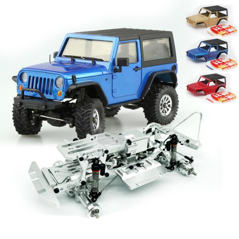 Orlandoo Hunter A01 Simulation Wrangler 1/35 Assembly Model Mini RC Off-Road Climbing Vehicle KIT Wrangler Crawler DIY Part