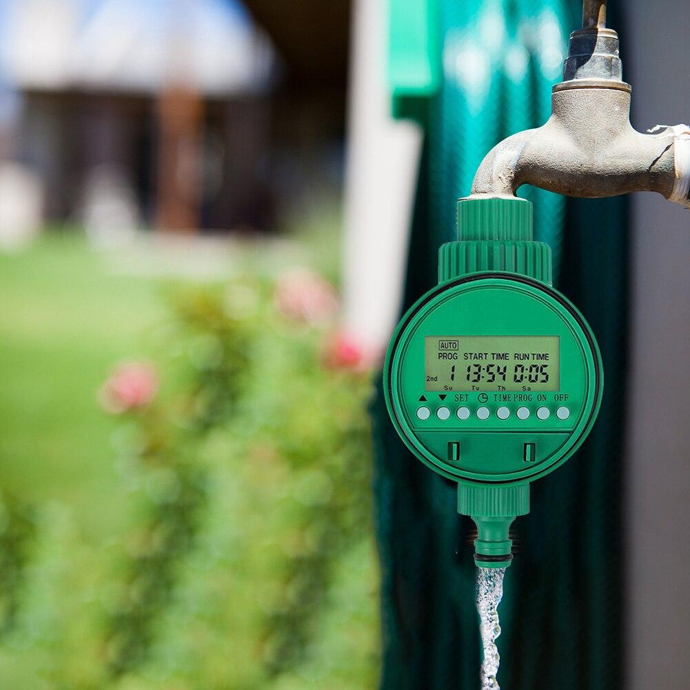 Tropf Bewässerung Anlage Garten Werkzeuge Garten Yard Bewässerung Timer Controller Ventil Automatische Elektronische Wasser Timer