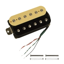 все цены на Electric Guitar Humbucker Pickups Bridge Alnico V Pickup (Zebra + black) онлайн