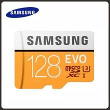 SAMSUNG – carte mémoire Micro SD, 32 go/64 go/128 go, classe 10, u3, 95 mo/s, SDXC, 4K, EVO Plus