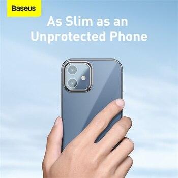 Прозрачный чехол Baseus для телефона iPhone 12 Pro Max 12Max