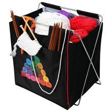 New Knitting Storage Bag DIY Yarn Storage Bag Tote For Wool Crochet Hooks Knitting Needles Sewing Hooks Organizer Supplies