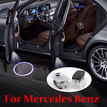 Car Door Welcome Light Projector For Mercedes Benz S Class W221 S500 S350 S63 S65 2006 2007 2008 2009 2010 2011 2012 2013 AMG carbon fiber rear roof spoiler lip for mercedes benz s class w221 s63 amg sedan 4 door 2007 2012 car styling