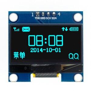 "Image 3 - 10pcs 1.3 inch OLED module white/blue  SPI/IIC I2C Communicate color 128X64 1.3 inch OLED LCD LED Display Module 1.3""OLED module"