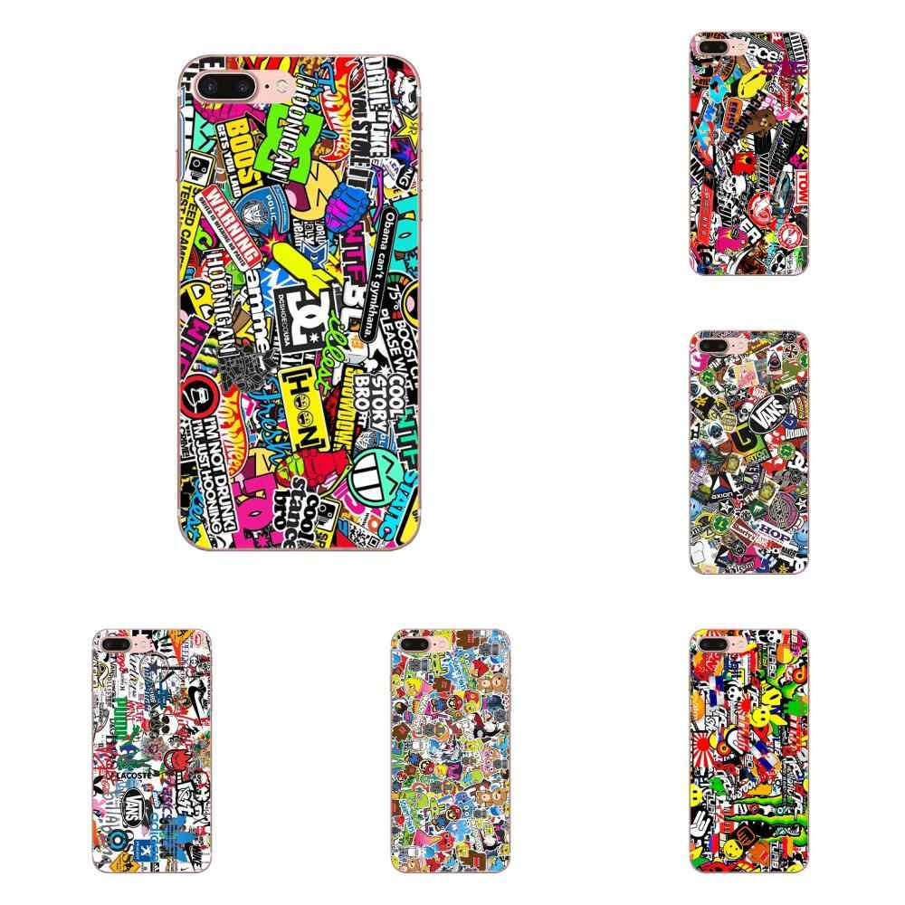 Luxury Cool Phone Case Sticker Bomb For LG G2 G3 G4 G5 G6 G7 K4 K7 K8 K10 K12 K40 Mini Plus Stylus ThinQ 2016 2017 2018