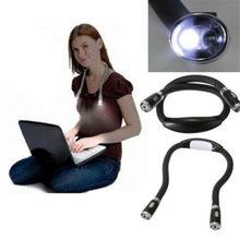 Criativo pescoço aconchego lâmpada led luz da noite flexível 4 modos led bateria alimentado handsfree leitura livro luz lâmpada ipad portátil