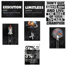 Motivational Canvas Painting Wall-Art Print On Home-Decor for Entrepreneur