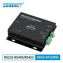 RS232 RS485 RS422 İzole çift yönlü dönüştürücü CDSENET E810 DTU(RS) kablosuz şeffaf iletim Modem