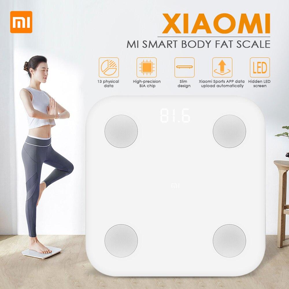 Xiaomi Smart Körper Fett Zusammensetzung Skala 2 Bluetooth 5,0 Balance Test 13 Körper Datum BMI Gesundheit Gewicht Skala Led-anzeige #3