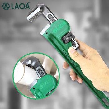 LAOA трубный ключ сверхмощный 8 дюймов 10 дюймов 14 дюймов 18 дюймов Сантехнический ключ CR-V сталь антикоррозийный ручной инструмент