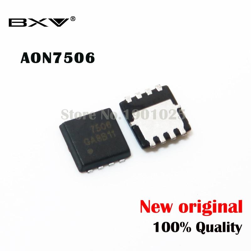 1-10pcs  AON7506 AO7506 7506 MOSFET QFN-8