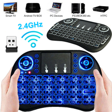 Wireless Gamer Keyboard 4G Mini Rechargeable Keyboard 92 keys Remote Control Touch Pad with Backlight for Android Smart TV 2017 new mc 35ag wireless touch digital keyboard touch mouse 2 4g wireless mini keyboard touch pads for pc