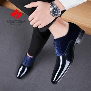 Men Shoes Footwear Wedding-Dress Spring Suede Black Fashion-Design Brand New Autumn