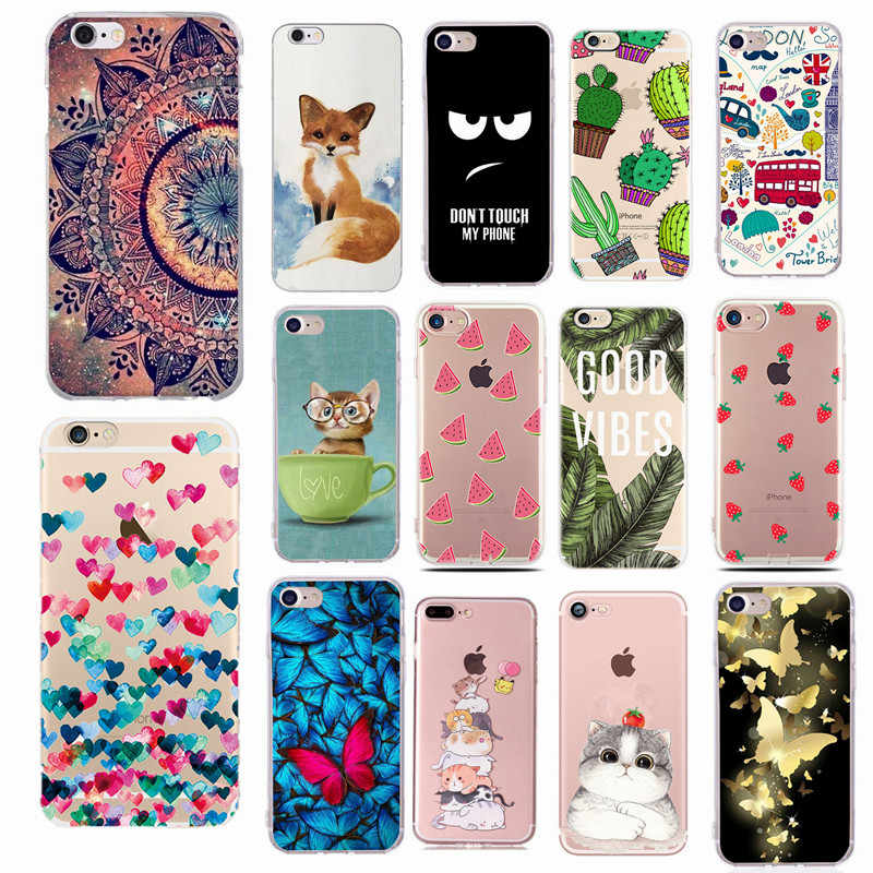 For Fundas Iphone Se 2020 5s Case Cover Apple Iphone 6 6s 7 8 Plus X Xs Cute Heart Silicone Phone Cover Case For Iphone 7 Capas For Iphone For Iphone 5for Iphone 5s Aliexpress