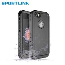 Para o iphone se 5S 5 caso impermeável, diário à prova de água natação mergulho capa proteção à prova de choque