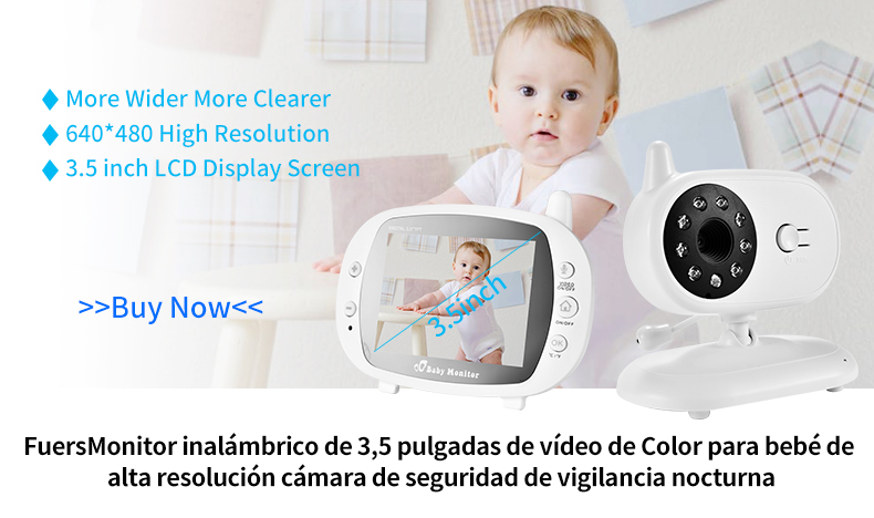 3 inch Baby Monitor With Security Night Vision Camera And a Voice Call For child Security 6