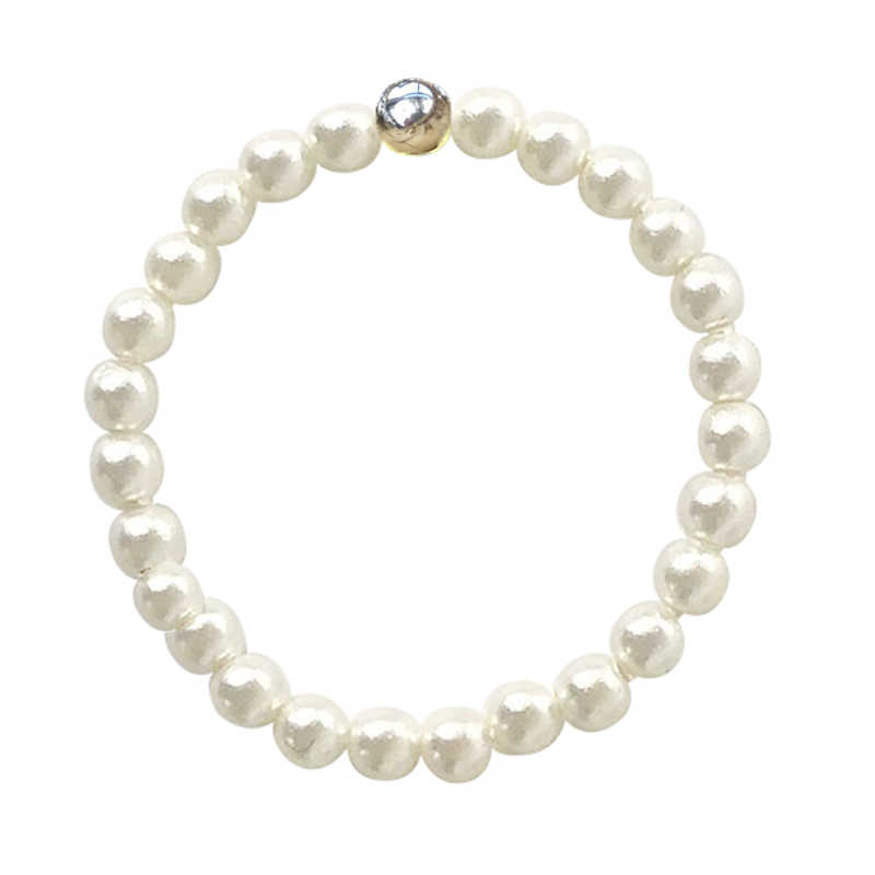 FFWFF Handmade costume Adjustable luxury Natural Shell pearl ring stainless steel Gold silver wedding rings for women Round Ring