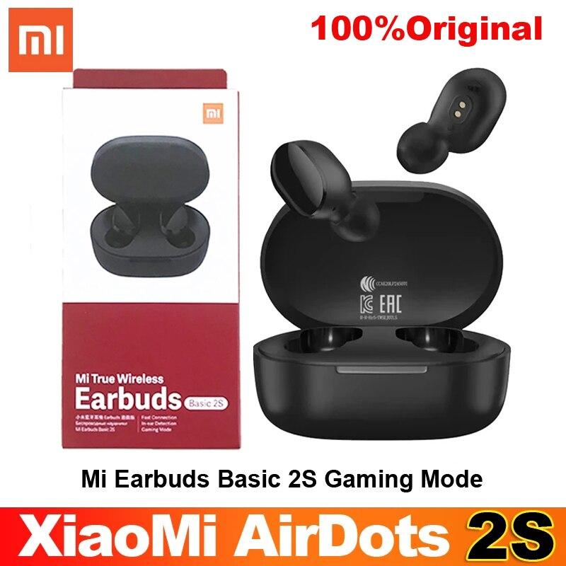 Беспроводные наушники airdot 2s Xiaomi mi true wireless, базовые наушники 2s Bluetooth 5,0, TWS наушники с сенсорным управлением, игровой режим, наушники типа C