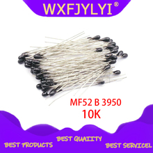 100 шт 10k OHM NTC MF52AT 3950 Термистор резистор NTC-MF52AT MF52 10K +/-1% термический резистор