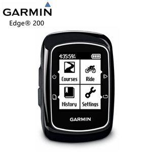 Image 1 - Original Garmin Edge 200 bicycle computer bicycle trainer GPS handheld receiver wireless, installation / quarter turn / box / sc