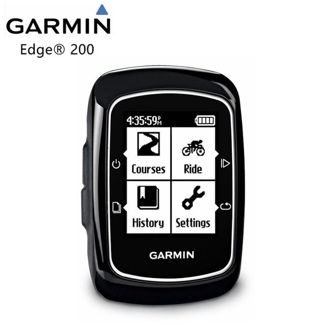 Original Garmin Edge 200 bicycle computer bicycle trainer GPS handheld receiver wireless, installation / quarter turn / box / sc