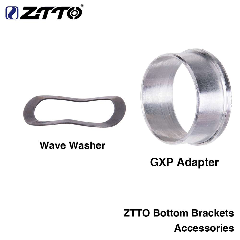 ZTTO bottom bracket accessory GXP adapter wave washer 0.5mm for bicycle K7 GXP 24 22mm chain MTB road