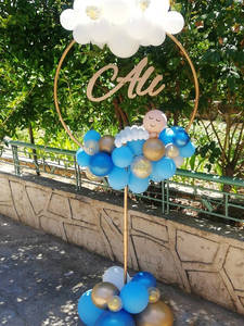 Balloon Column-Base Party-Supplies Wedding-Decorations Birthday-Event Wide-Circle Plastic