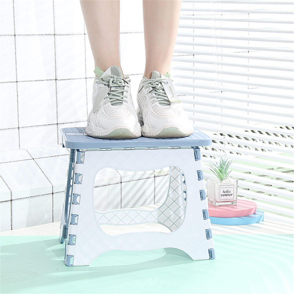 Folding Stool Household Bathroom Child Step Stool Portable Outdoor Foldable Bench Mini Seat Small Chair Fishing Camping Chair