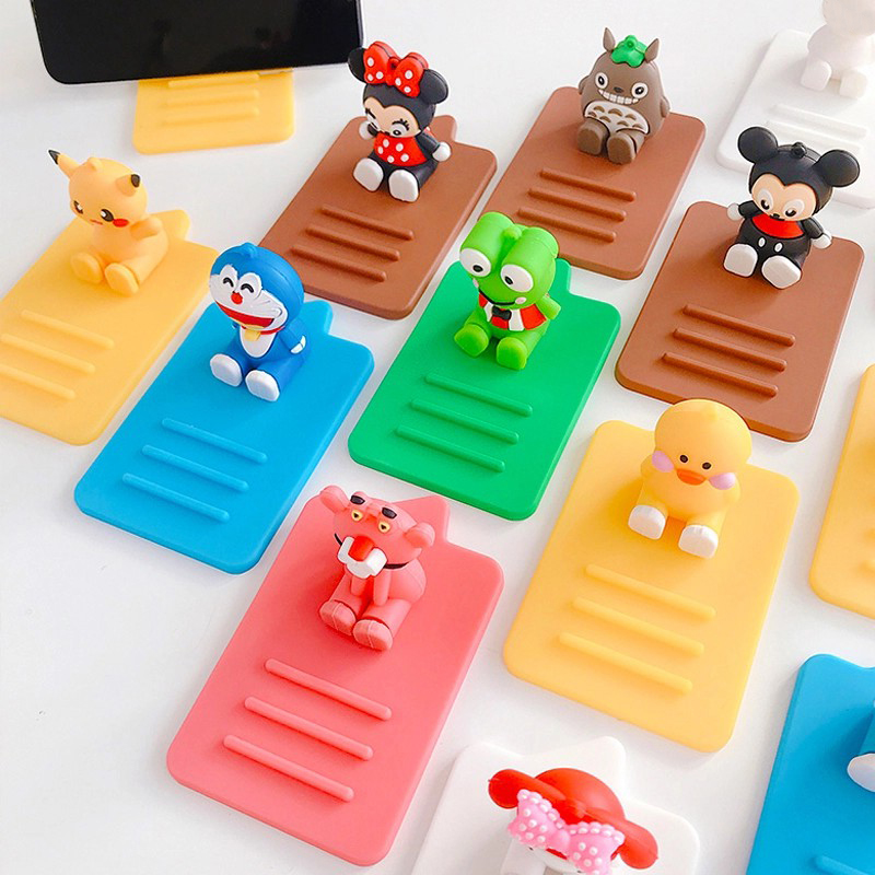 Cartoon Cute Phone Holder Mobile Support Telephone Bracket Stand Portable Smartphone Phone Stand Desk Holder For IPhone Samsung