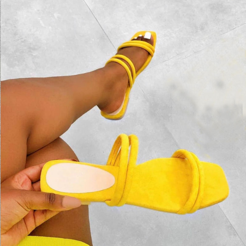 Women's Slippers Summer Outside Ladies Rome Shallow Flat Heel Slides Women's Hotsale Brand Shoes Plus Size 41 42 Female Sandals