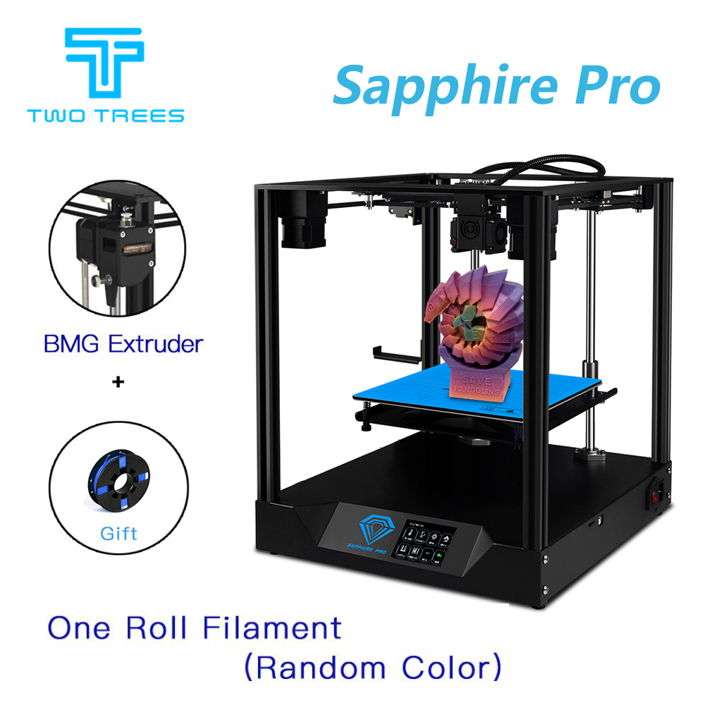 TWO TREES 3D Printer Sapphire Pro BMG Extruder CoreXY Aluminium Profile Frame Core Xy