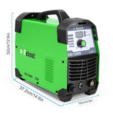 """Plasma Cutter 50 Automatic 110/220V Dual Voltage Compact Metal Cutter AC 1/2"""" Clean Cut Inverter Cutting Machine IGBT Welder"""
