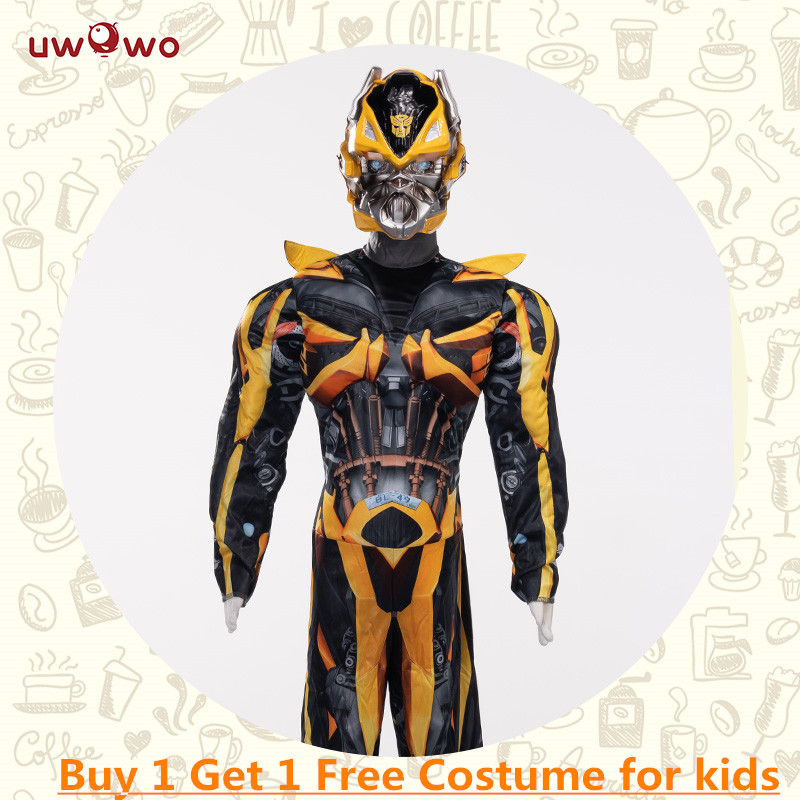 Bumblebee Boys Kids Costume Cosplay Superhero Jumpsuits Kids Costume  Halloween Costumes Carnival Cosplay Party Cosplay Suits