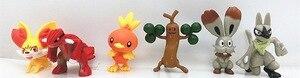 Image 5 - 24 סגנון סט דמויות פיקאצ ו פוקימון איור Pvc פעולה הרבה קריקטורה Pokemoning בובת צעצועים לילדים סרט & טלוויזיה דגם