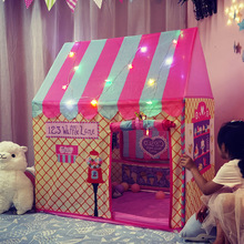 Portable Kids Tent Child Baby Toys Fairy House for children Play Tents for kids Play Ball Pool Christmas Birthday gift
