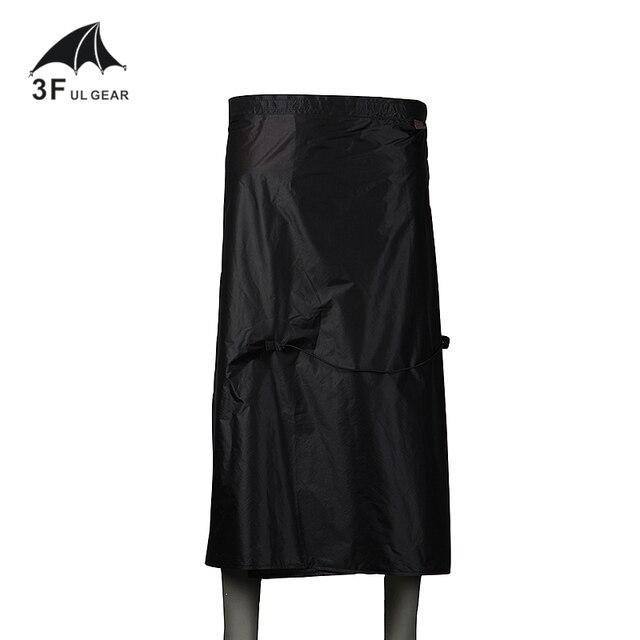 3F UL GEAR  Rain Skirt 15D Nylon  Outdoor Hiking Lightweight Waterproof 2