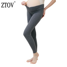 ZTOV 2018 Autumn Maternity Leggings Low Waist Pregnancy Belly Pants For Pregnant women Maternity Trousers Clothes