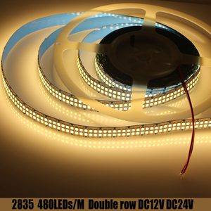 LED strip light 2835 DC12V SMD 1200 2400 LED chips LED tape light 480 LEDs White cold white warm white 240 LEDs DC24V 0.5-5M