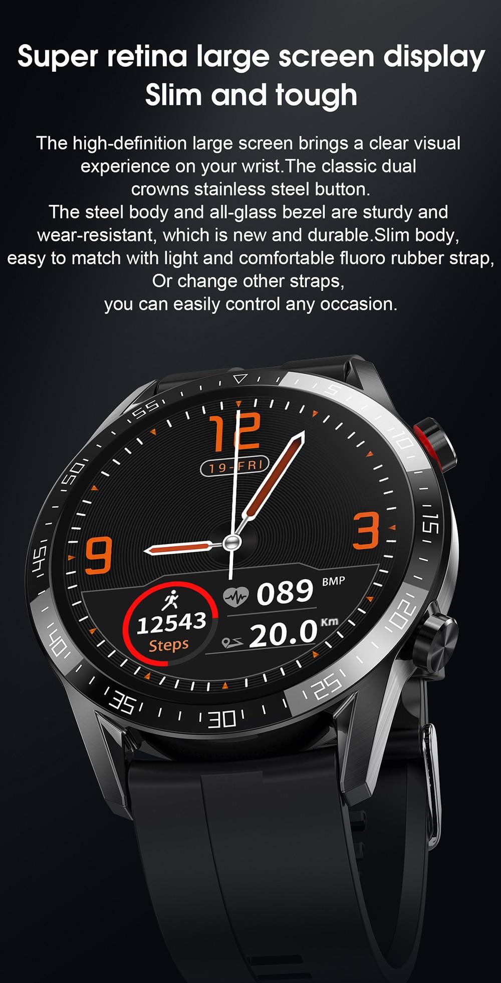 Hdf85e0d3376a48c68c4d7618821b69cdt For Phone Xiaomi Android IOS Reloj Inteligente Hombre Smartwatch Men 2021 Android IP68 Smartwatch Answer Call Smart Watch Man