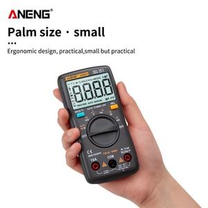 Image 3 - Цифровой мультиметр ANENG AN8001, профессиональный, 6000 отсчетов, тестер конденсаторов, универсальный тестер напряжения