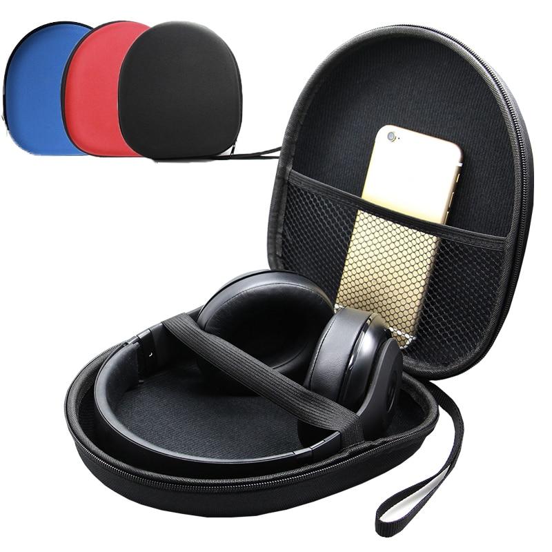 Portable Headset Earphone Headphone Carrying Hard EVA Case Bag Storage Box Hold