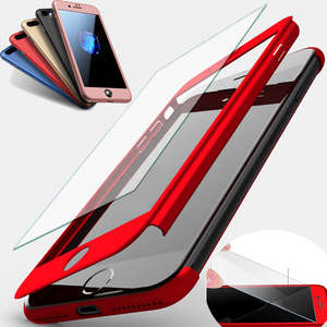 360 Full-Cover Samsung Galaxy Phone-Case Tempered-Glass-Cover-Case for J1 J2 J3 J5 J7
