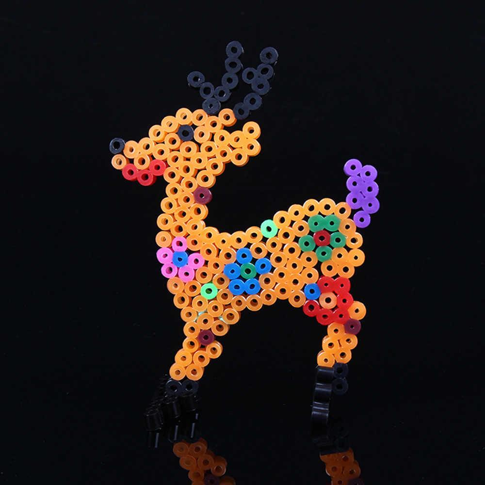 2.6 millimetri/5 millimetri Hama Beads Perplesso Giocattoli Per I Bambini Del Mestiere Perline Di Puzzle Tavole Forate Modelli FAI DA TE Giocattolo Crative Puzzle modello