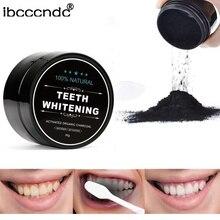 Профессиональное Отбеливание зубов порошок активированный Кокосовая угольная естественная отбеливание зубов порошковый древесный уголь зубной камень удаление пятен