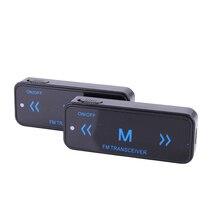 2pcs Leixen VV-108 Mini Portable Walkie Talkie 0.5W UHF 400-480MHz 16CH with USB Power Eeaphone Ham Two-Way Radio Transceiver